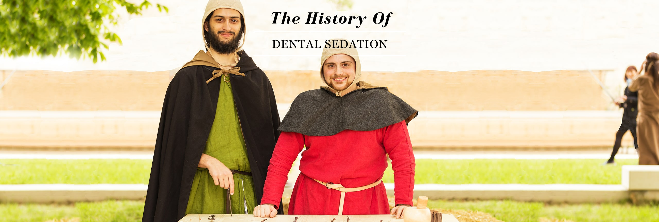 A Brief History of Dental Sedation